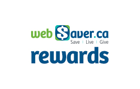 webSaver.ca Loyalty and Rewards program